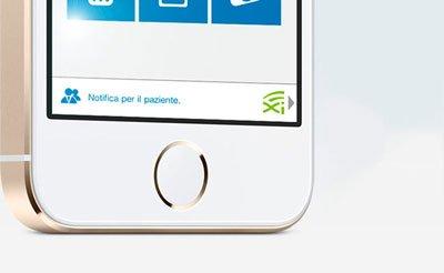 Immagini notifiche pazienti App XINFO su Phone - Studio dentistico associato Motta Jones Rossi a Milano centro
