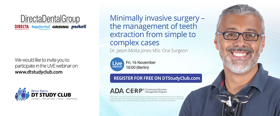 Jason Motta Jones - Minimally invasive surgery – the management of teeth extraction from simple to complex cases